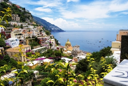 private tour - airport transfer Naples to Positano Costiera Amalfitana